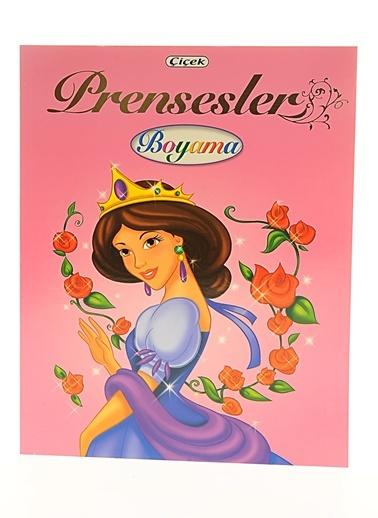 Prensesler Boyama-Çiçek Yayıncılık